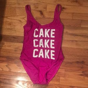 Other - NEVER WORN Pink women's bathing suit